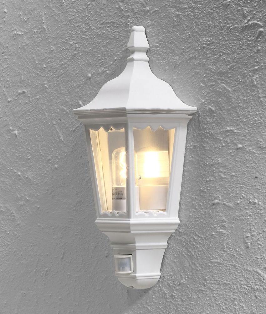 Flush Mounted Half lantern with PIR