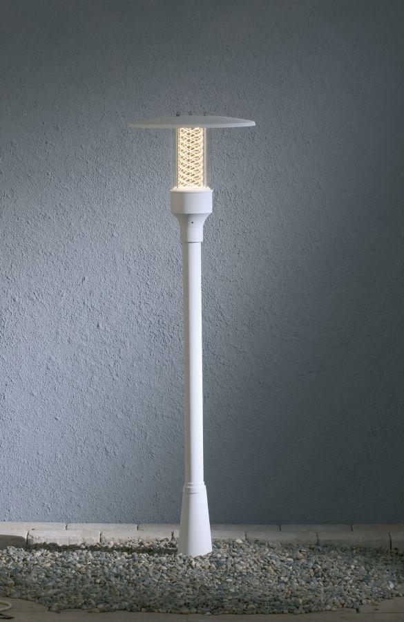Stylish Scandinavian Exterior Bollard Light In 3 Colours