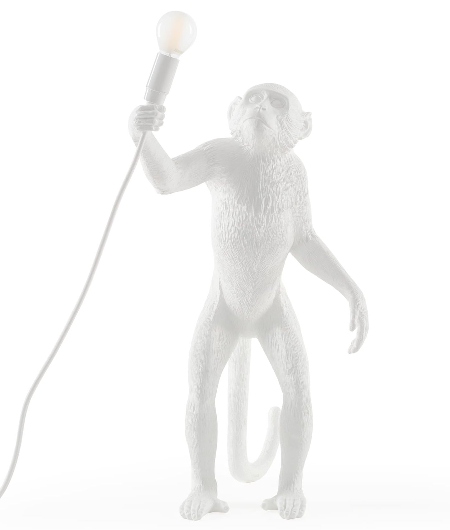 Monkey standing table light with led lamp included hover to zoom mozeypictures