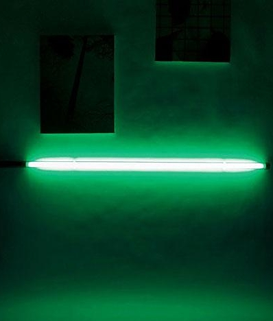 Neon Slim Tube Floor Or Wall Light In Five Colours