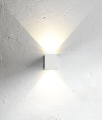 Very Funky Filtered Square Wall Light In 5 Finishes
