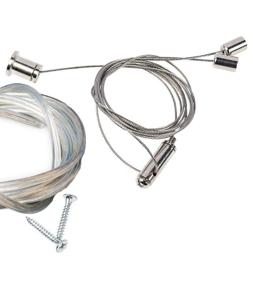 surface mounted or suspended twin fluorescent fitting with louvre