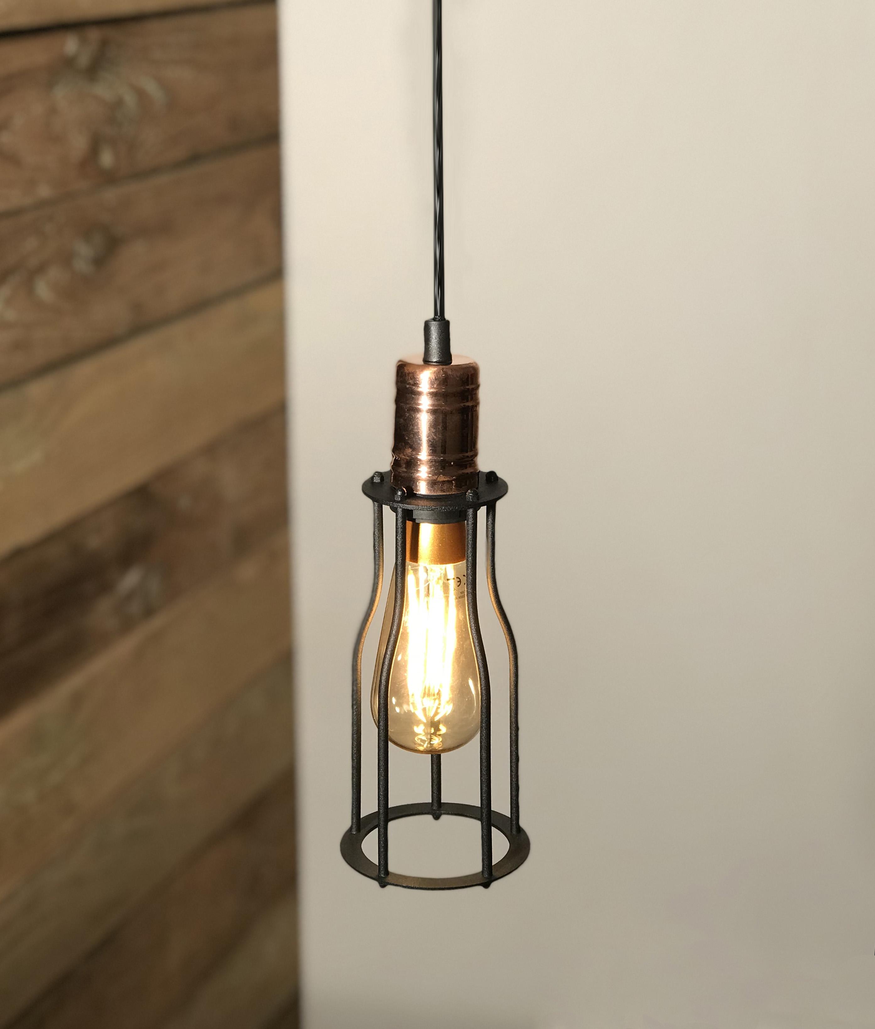 E27 Led 4w Vintage Squirrel Lamp For Flex Pendants