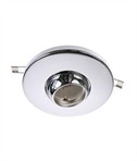 LED Eyeball Downlight Converter - Chrome