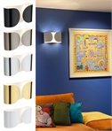 Low Glare Subtle Up Down Wall Light - Foglio by Flos
