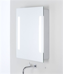 Bathroom Cabinet Back-lit Mirror Door W:600mm