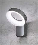 LED Aluminium Halo Wall Light IP44