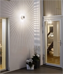 Starburst LED Wall Light - Fantastic on Walls Inside or Out