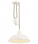 Cream Rise and Fall Ceiling Light
