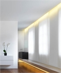 Recessed Plaster for Wall Wash Lighting