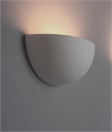 Half Bowl Ceramic Wall Light