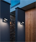 Tiltable LED Exterior Wall Light - 3000k or 4000k