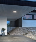 Remote Controlled LED Exterior Ceiling Light