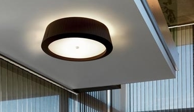 Ceiling Fixed Drum Shade Fixtures