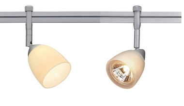 Track lighting for kitchens lighting styles stylish slim 12v track silver grey mozeypictures Image collections
