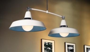 Light chrome ceiling pendant three lamps rise fall pendants aloadofball Choice Image