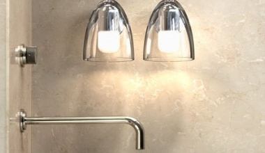 Wall Lights For Shower Room : Bathroom Lights & Fixtures Lighting Styles