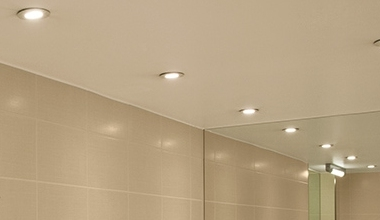 Bathroom lights fixtures lighting styles recessed bathroom downlights aloadofball Choice Image