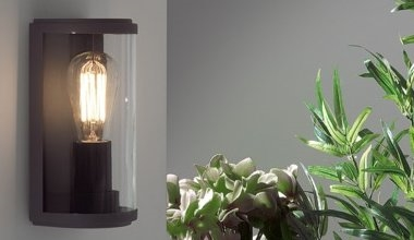 Modern Exterior Lanterns Flush Mounted