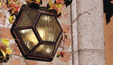 Traditional  Flush Mounted Exterior Lights