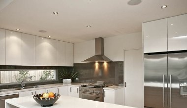Kitchen lights lighting styles recessed kitchen lighting aloadofball Image collections