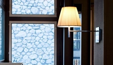 Modern Wall Lights with Fabric Shades