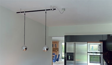 Kitchen lights lighting styles track lighting for kitchens aloadofball Choice Image