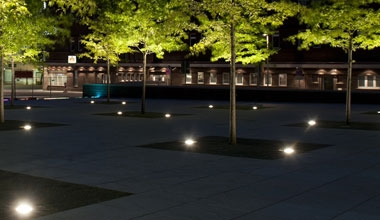 Exterior Ground Recessed Lights