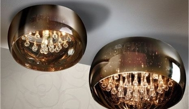 Ornate Semi-Flush Lights