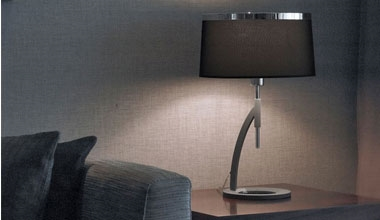 Table Lamps - Fabric Shades