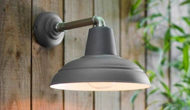 Modern Exterior Lanterns Bracket Mounted