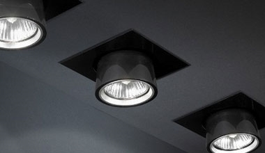 Semi Recessed Downlights and Pull Out Spotlights