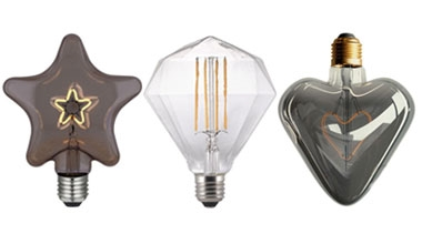 Decorative Bare Bulb Lamps