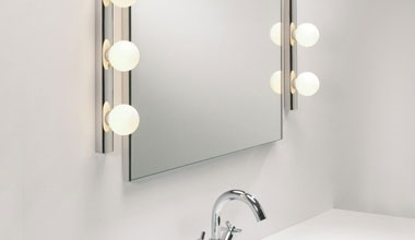 Lights for Use Around a Bathroom Mirror