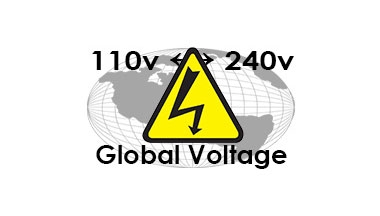 110v or 240v - You choose
