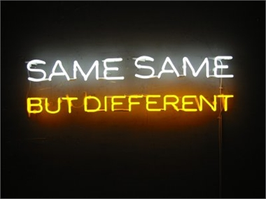 We're all the same but different